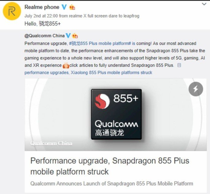 realme snapdragon 855 plus
