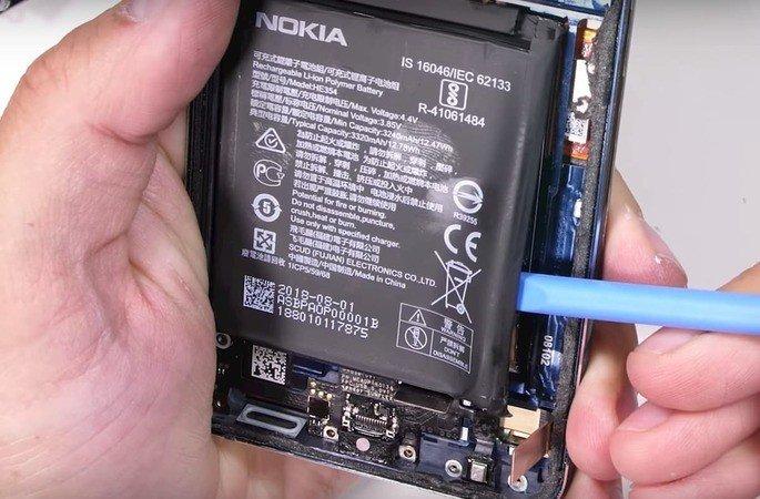 nokia 9 pureview bateria