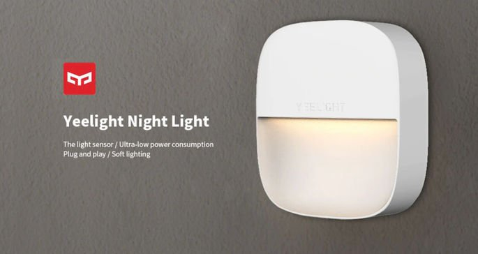 xiaomi yeelight night light luz de presença