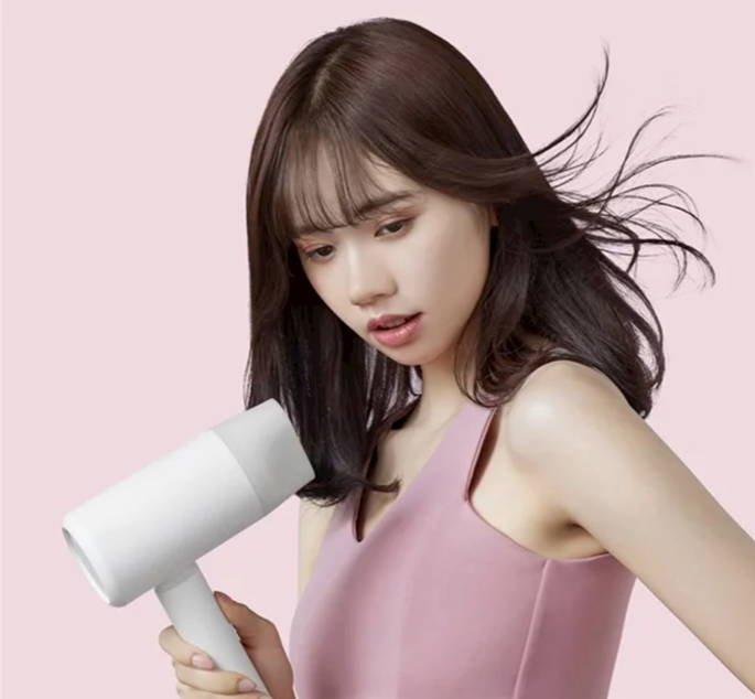 xiaomi mijia negative secador de cabelo portátil