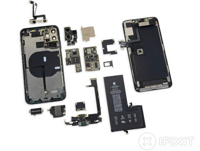 iPhone 11 Pro Max teardown iFixit