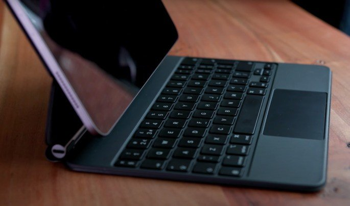 O novo Magic Keyboard do iPad Pro