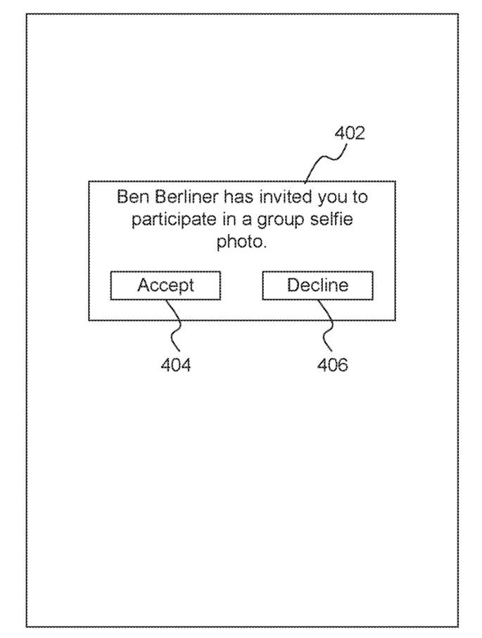 Apple patente selfie