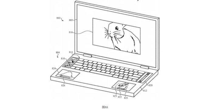 MacBook Pro com 5 ecrãs