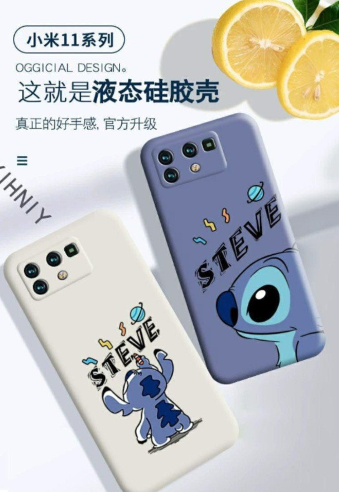 Alegadas capas protetores do Xiaomi Mi 11 Pro