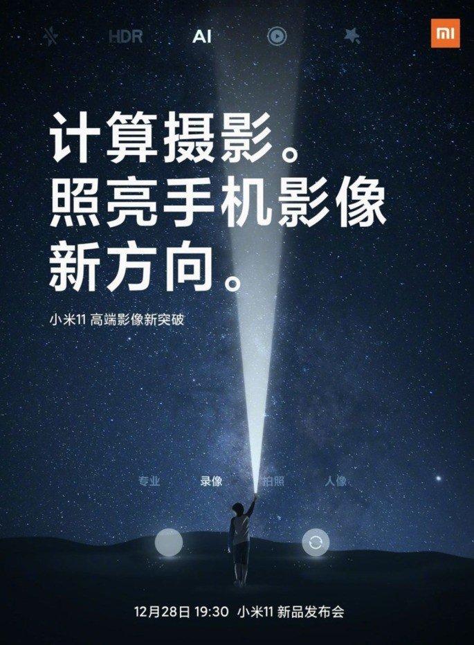 Fotografia computacional será um dos bastiões do Xiaomi Mi 11