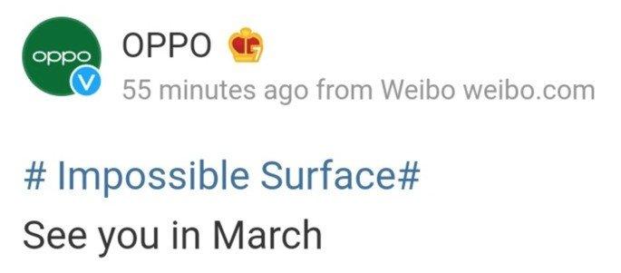 Oppo Find X3 será apresentado oficialmente em março
