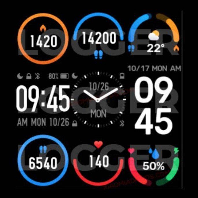 Xiaomi Mi Band 6. Crédito: Logger