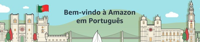Amazon dás as boas-vindas aos portugueses