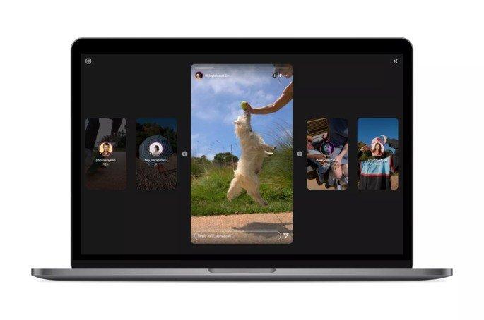 Instagram Stories com nova cara na versão para computador
