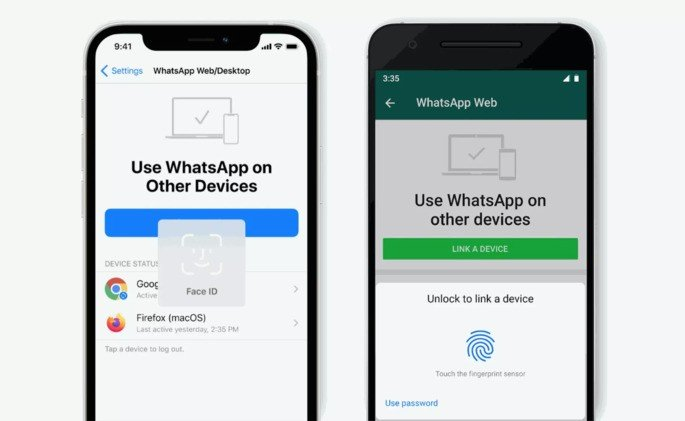 Aceder ao WhatsApp no computador fica mais seguro graças à autenticação biométrica