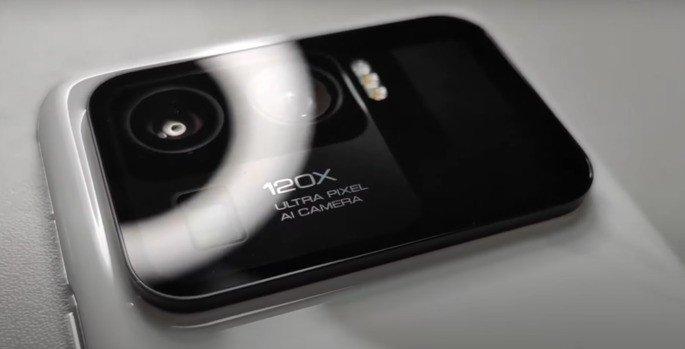 O módulo de câmaras do Xiaomi Mi 11 Ultra