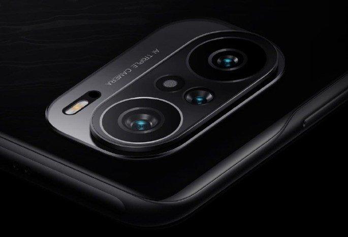 O módulo de câmaras do Redmi K40 Pro
