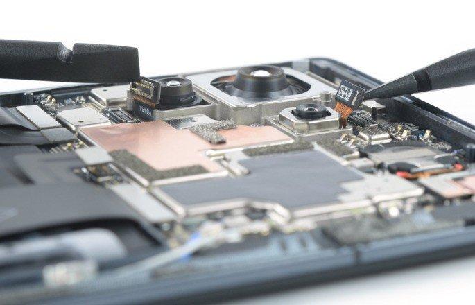 O interior do Xiaomi Mi 11