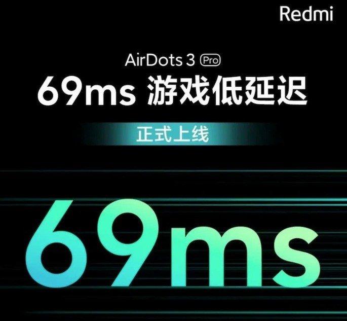 Latência dos Redmi Buds 3 Pro (AirDots 3 Pro)