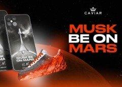 Caviar vai lançar iPhone 12 Pro numa edição especial do Elon Musk e o SpaceX!