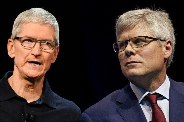 Apple Qualcomm CEO