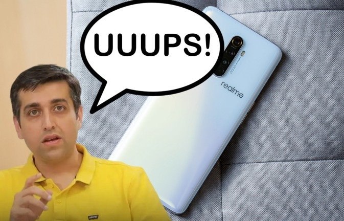 """CEO da Realme é apanhado a """"tweetar"""" de um iPhone e gera polémica!"""
