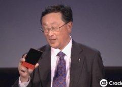 BlackBerry Passport disponível em vermelho já este mês