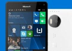 Está disponível uma nova atualização para o Windows 10 Mobile