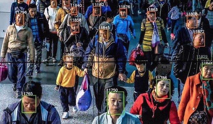 China smartphones, internet, scanear cara, scanizar rosto