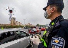 China utiliza drones para combater o Coronavírus