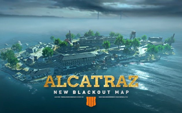 Call of Duty Alcatraz Battle Royale