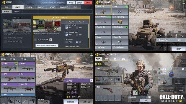 Call of Duty Mobile definições