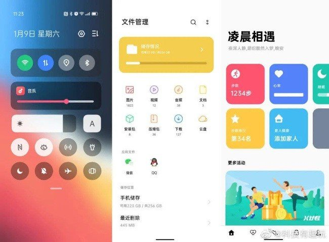 Android 12 ColorOS 12 OPPO