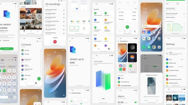 ColorOS 12 OPPO Android 12 Google