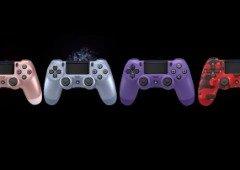 Comandos da PlayStation 4 vão receber 4 novas cores