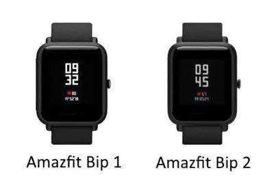 Comparação entre Amazfit Bip 1 e Amazfit Bip 2