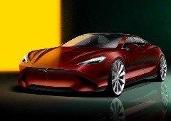 Conceito do novo Tesla Model S revela-nos um carro de sonho