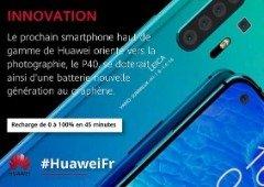 Confirmado! Huawei P40 vai revolucionar as baterias dos smartphones