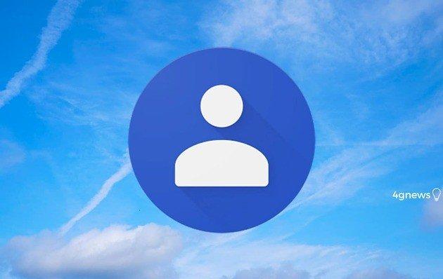 Contactos Google nova funcionalidade