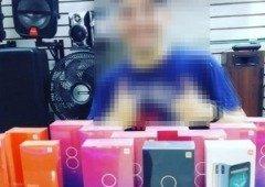 Correu mal! Loja ostentava produtos da Xiaomi e chamou a atenção da polícia!