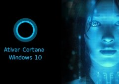 Como Ativar Cortana no Windows 10 - Série A+B Português