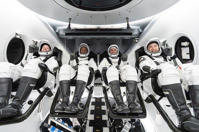 NASA SpaceX Crew 1
