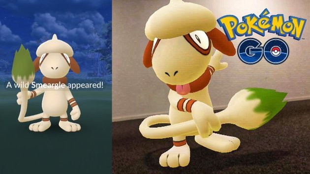 smeargle pokemon go