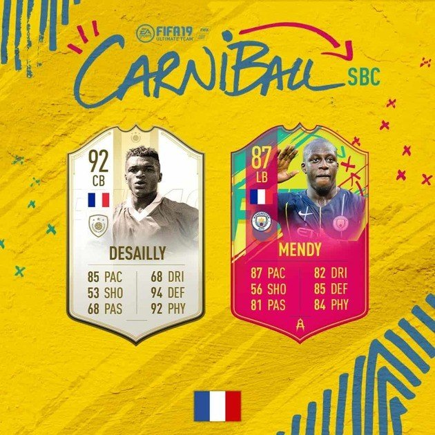 mendy carniball sbc fifa 19 ultimate team