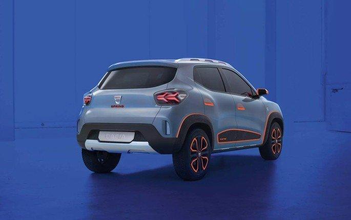 Dacia Spring Electric carro elétrico