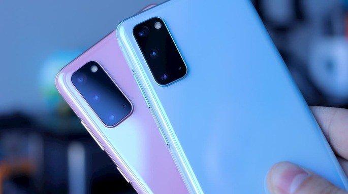 Samsung Galaxy smartphones sensores câmara