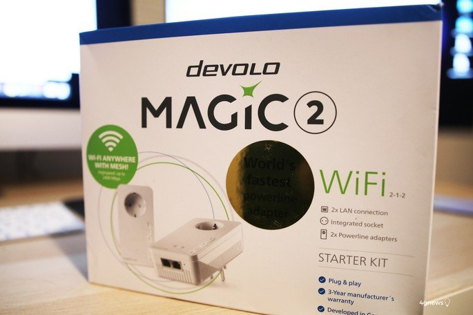 Powerline Devolo Magic 2 Wi-Fi