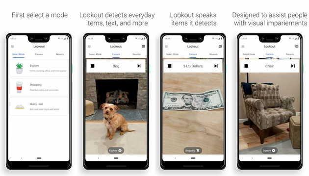 Google Pixel Lookout App