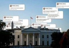 Donald Trump esteve quase para ter um 'babysitter' na conta do Twitter