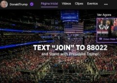 Donald Trump surpreende ao tornar-se streamer na Twitch