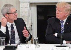 Donald Trump poderá dar 'imunidade' à Apple face aos novos impostos!