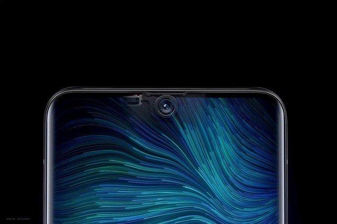 OPPO smartphone Nokia câmara dentro de ecrã de smartphone