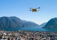 Drone de entregas despenhou-se na Suíça e quase caiu em cima de várias crianças!