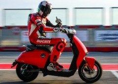 Ducati lançará a sua primeira scooter elétrica em parceria com a Vmoto